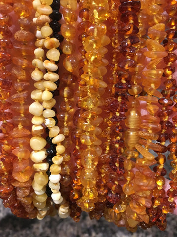 12.5 To 13 Inch Baltic Amber Necklace OR 5.5 To 6 Inch Bracelet GRAB BAG