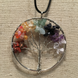 Baltic Essentials Chakra Tree of Life Quartz Teen Adult 17 19 in Necklace Rainbow 1