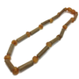 Baby Hazelwood Necklace - 11 Inch Hazelwood Necklace Eczema Colic Reflux GERD Raw Honey Baltic Amber
