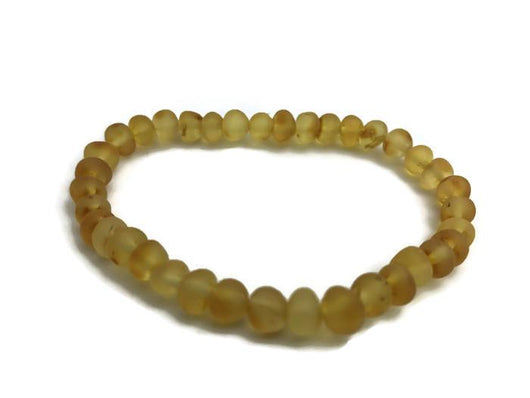 Baltic Amber Bracelet - Discounted Adult Coordinating Bracelet Pain Relief Or Hormonal  7.5 Inch Stretch