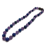Baltic Amber Necklace - 12.5 Or 14 17 19 Inch ADHD Focus Anger Amethyst Lapis Lazuli