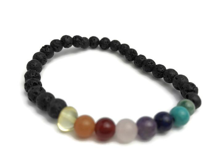 Baltic Amber Necklace - Baltic Essentials Chakra Lava Rock Balance Bracelet Yoga Teen Amethyst Lapis