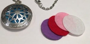 Hearts Locket - Five Colored Replacement Pads