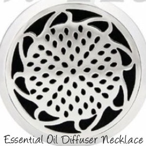 Essential Oil hypo-allergenic Surgical Stainless Steel 316L Diffuser Sunflower