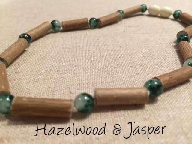 17 inch Hazelwood For Heart burn, acid reflux, Eczema Polished mixed with B...