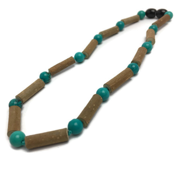 Hazelwood Necklace - Hazelwood Necklace Turquoise Baby, Infant, Toddler, Big Kid. 12.5 Or 14 Inches