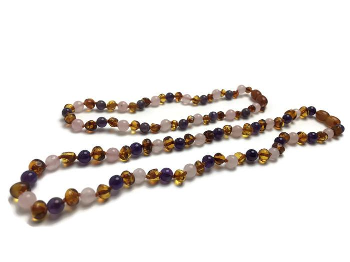Mommy Daughter Match Matching Baltic Amber Teething Necklaces