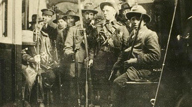 members of the 1916 Easter Rising