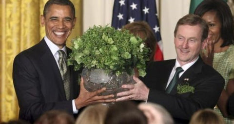 Enda Kenny | Barack Obama - The Irish Shamrock