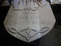 Irish Celtic Craftshop Design