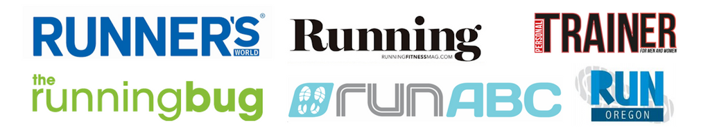 As Featured By Runners World, Running Magazine, The Running Bug, Run ABC Magazine, Personal Trainer Magazine and Run Oregon Blog