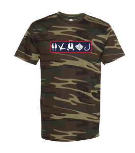 Tracks Logo Shirt | Classic Camo - Outdoor Militia®