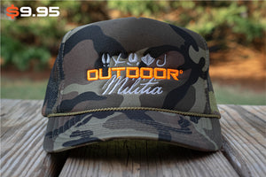 Patriot Back™ | Super Classic Camo - Outdoor Militia®