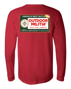 Redman Long Sleeve - Outdoor Militia®