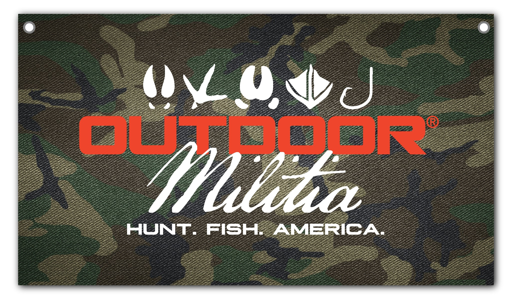 Outdoor Militia Banner - Outdoor Militia®