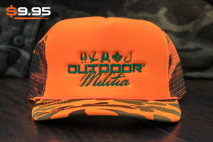 Patriot Back™ | Super Classic Blaze - Outdoor Militia®