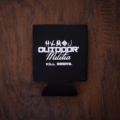 Outdoor Militia Koozie | Black - Outdoor Militia®