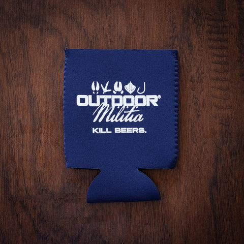 Outdoor Militia Koozie | Navy Blue - Outdoor Militia®