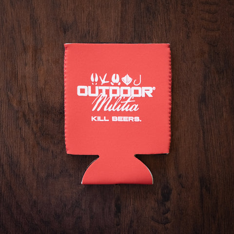 Outdoor Militia Koozie | Deep Coral - Outdoor Militia®