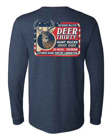 Deer Thirty™ Shirt | Pre Order - Outdoor Militia®