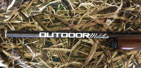 Barrel Decal - Outdoor Militia®