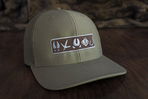 Tracks Logo™ | Loden Green - Outdoor Militia®