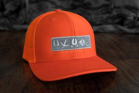 Tracks Logo™ | Hunter Orange - Outdoor Militia®