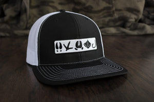 Tracks Logo™ | Black & White - Outdoor Militia®