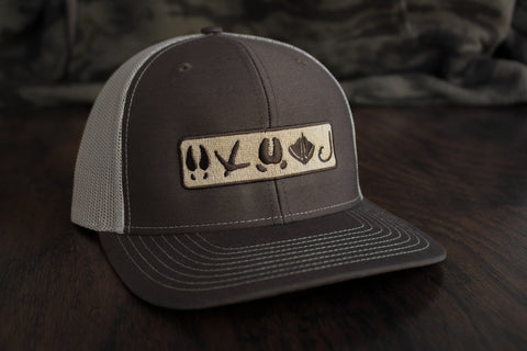 Tracks Logo™ | Brown / Khaki - Outdoor Militia®