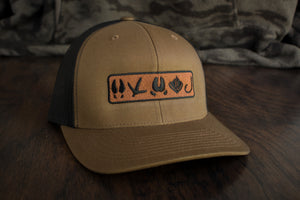 Tracks Logo™ | Coyote Brown - Outdoor Militia®