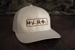 Tracks Logo™ | Tan - Outdoor Militia®
