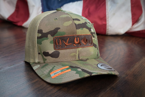Tracks Logo™ | Multicam® Tan - Outdoor Militia®