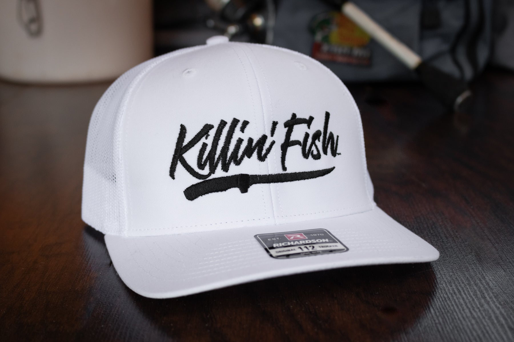 Killin' Fish™ | White - Outdoor Militia®