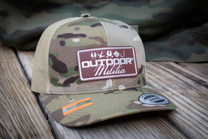 OM Leather Patch | Multicam Tan® - Outdoor Militia®