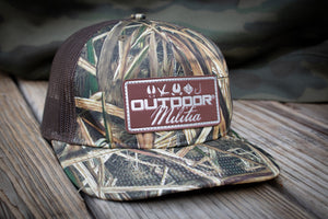 OM Leather Patch | Mossy Oak Blades® - Outdoor Militia®