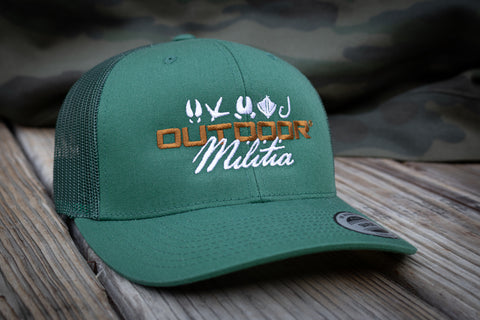 Patriot Back™ |  Forrest Green - Outdoor Militia®