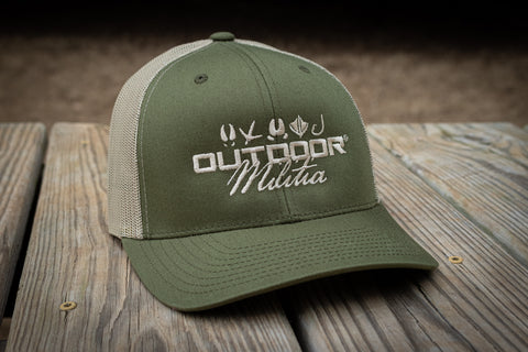 Patriot Back™ | Moss / Khaki - Outdoor Militia®