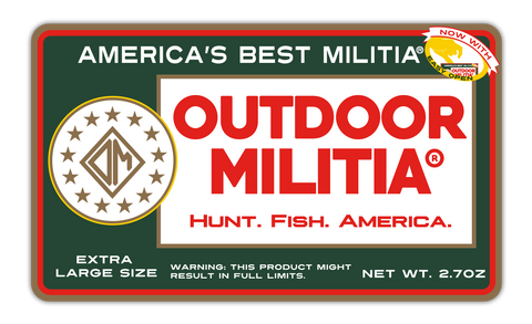Redman Decal - Outdoor Militia®
