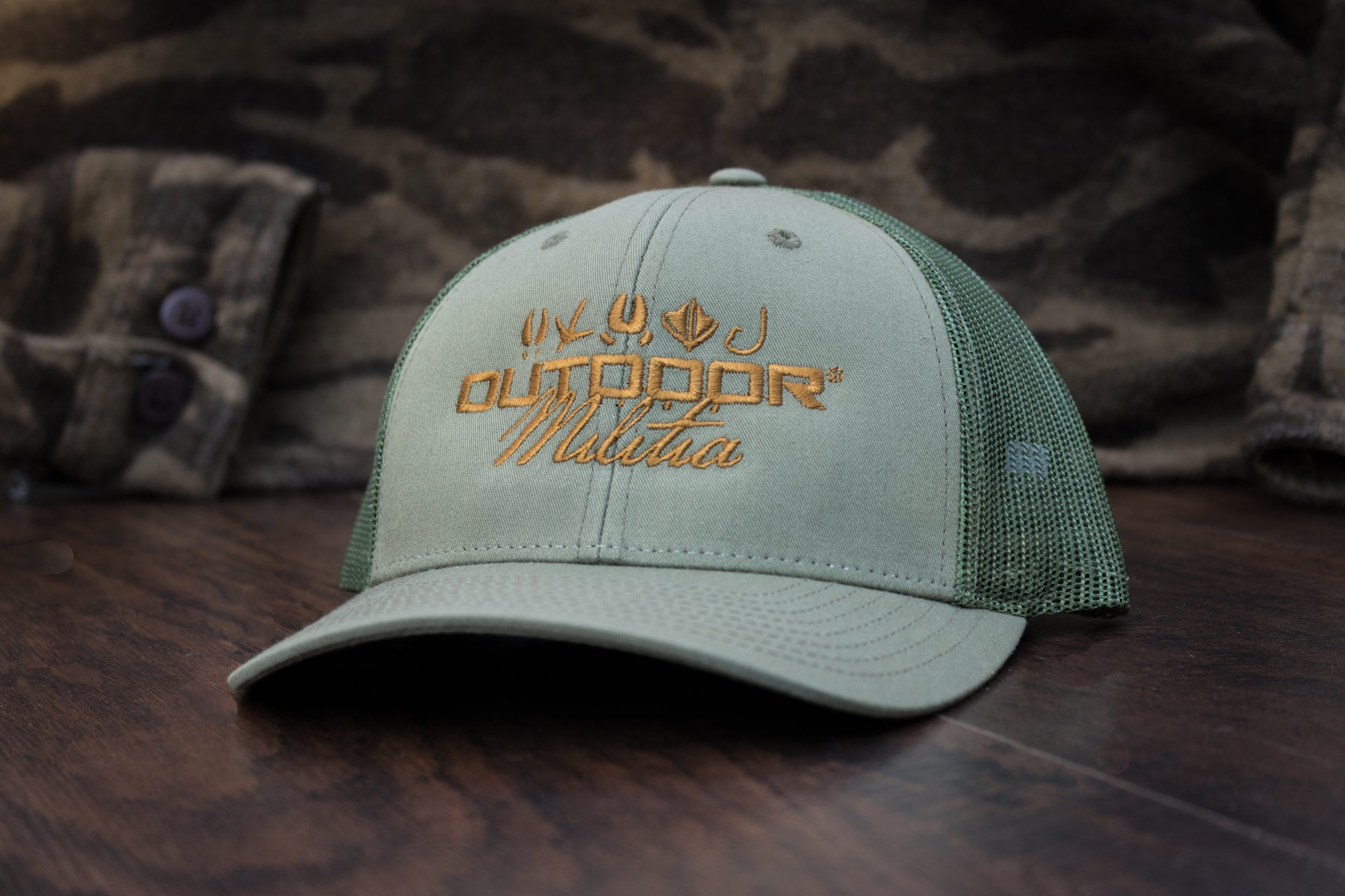 Patriot Back™ | Mid-Rise - Loden Green - Outdoor Militia®