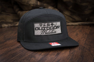 Patriot Back™ | Heather Black Patch - Outdoor Militia®