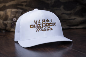 Patriot Back™ | White - Outdoor Militia®
