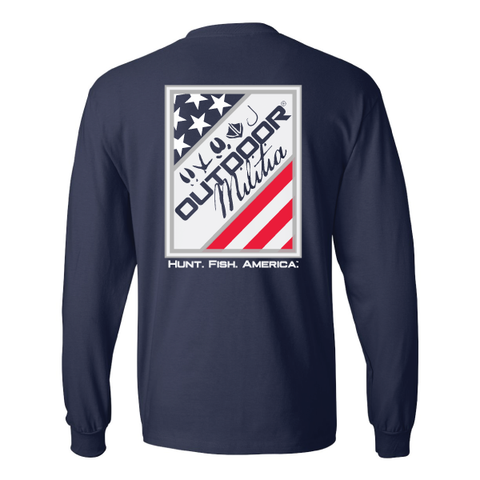 Stars & Stripes LS - Outdoor Militia®