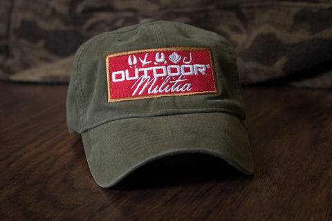 Vintage Patch Hat | Olive - Outdoor Militia®