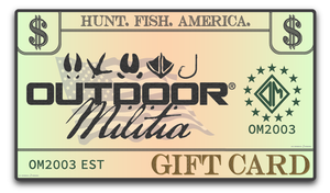 Gift Card - Outdoor Militia®