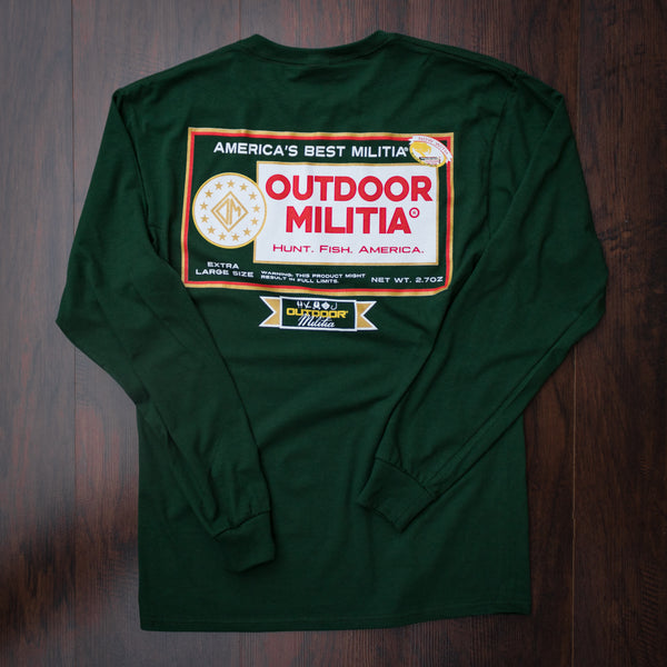 Old School Pouch - GREEN - Outdoor Militia®