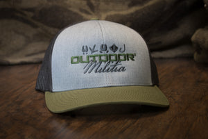 Patriot Back™ |  Olive Split - Outdoor Militia®