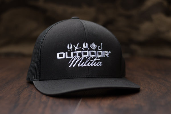 Patriot Back™ |  Black - Outdoor Militia®