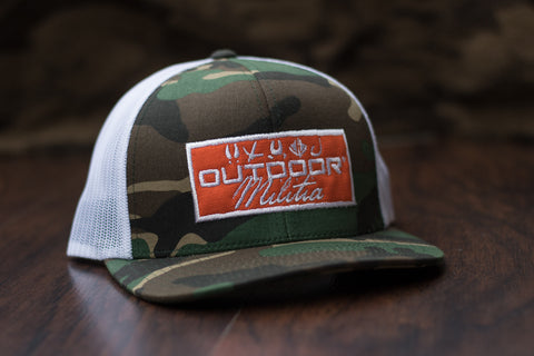 Patriot Back™ | Camo Patch - Outdoor Militia®