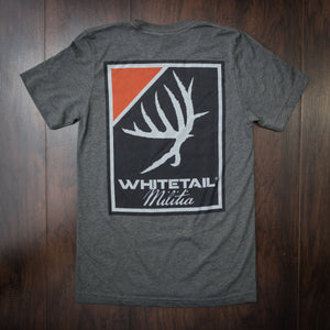 Whitetail Militia™ | Charcoal SS - Outdoor Militia®