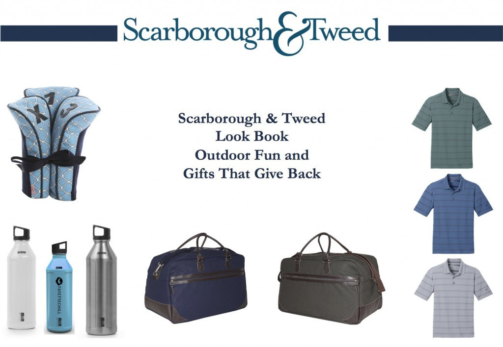 Scarborough & Tweed Look Book - April 2015 - Outdoor Fun and Gifts That Give Back- Final - Cover